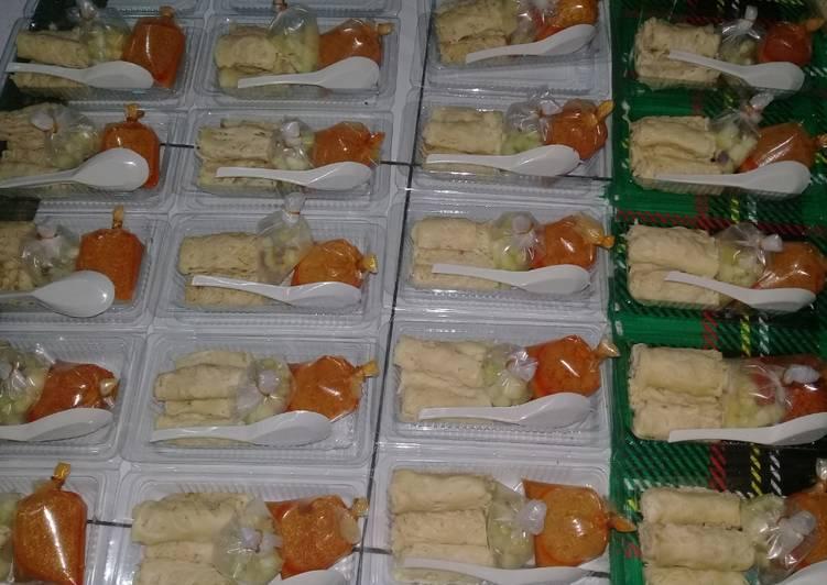 Resep Roti Jala Kuah Kari Ayam oleh Tyara Bellia - Cookpad