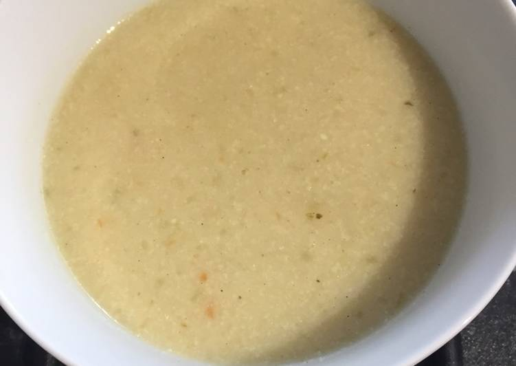 Cauliflower and Parmesan soup