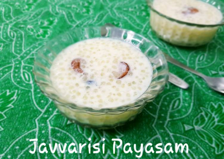 Simple Way to Make Super Quick Homemade Sago kheer/ javvarisi payasam