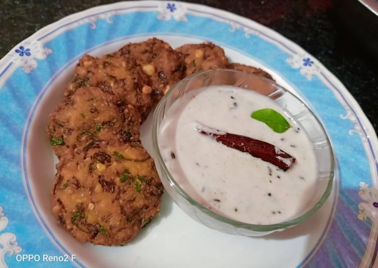 Dal vada (parippu vada) Finding Healthy Fast Food