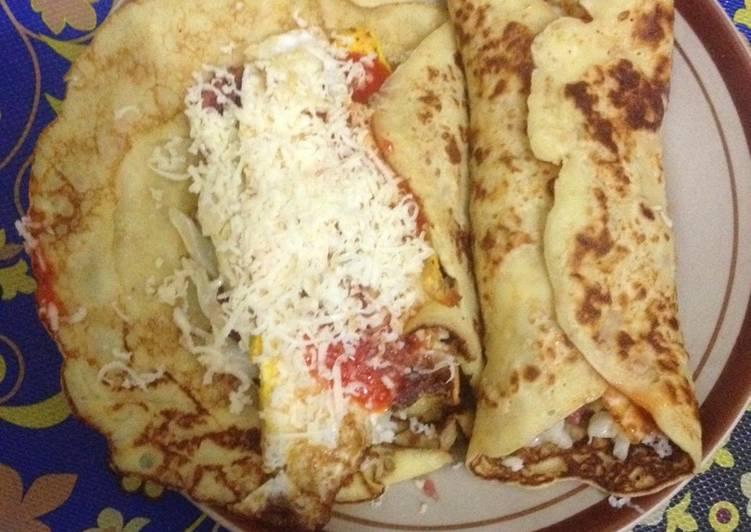 Kebab oatmeal homemade masakan diet mayo