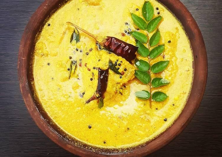 Simple Way to Prepare Super Quick Homemade Kerala Manga Puliserry Mango Curry