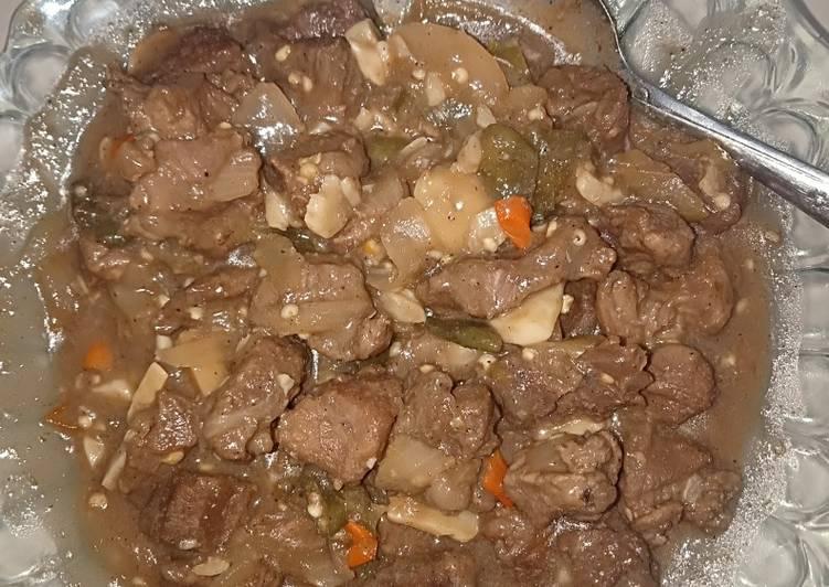 Beef Yakiniku Simple