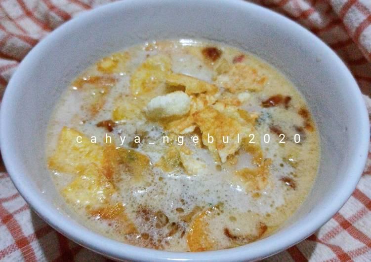 Soto Betawi (santan+susu)