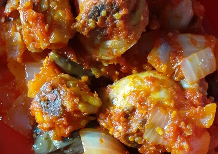 Cara Gampang Menyiapkan Sambal ayam dan terong, Bikin Ngiler