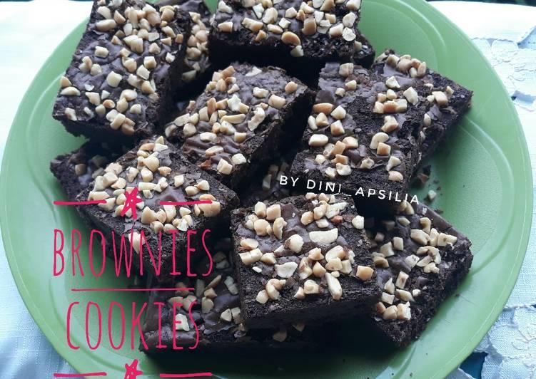 Brownies Cookies (No Mixer)