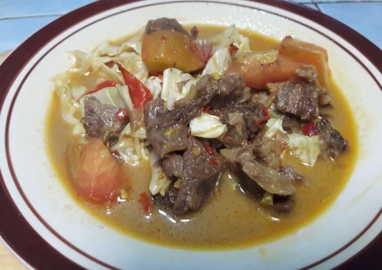 71. Tongseng daging sapi - cookandrecipe.com
