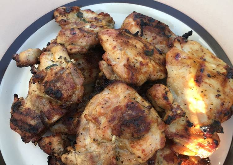 Bbq chicken with beer marinade