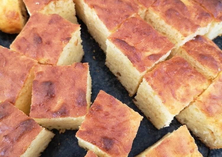 recette Gâteau salé semoule gruyère Le plus simple
