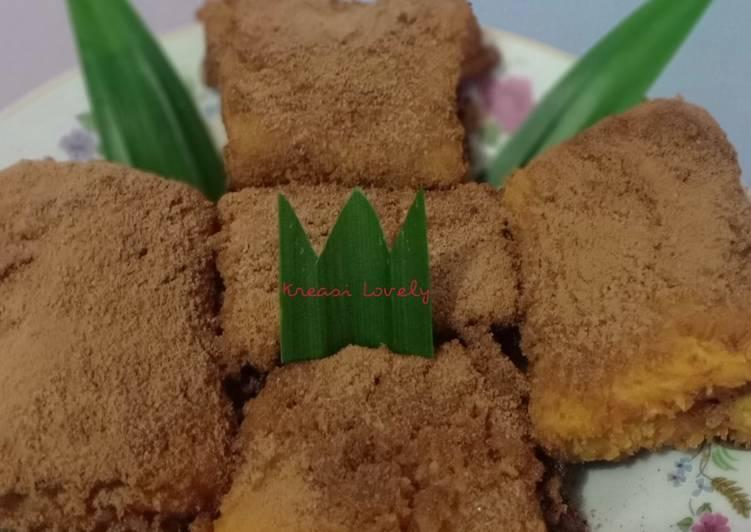 Risol Pisang Cokelat with Taburan Milo