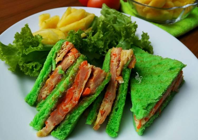 Resep Sandwich Kubis Wortel Ekonomis Ala Korea Paling Gampang