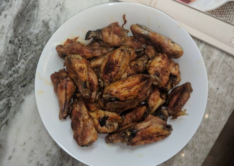 Oven BBQ wings