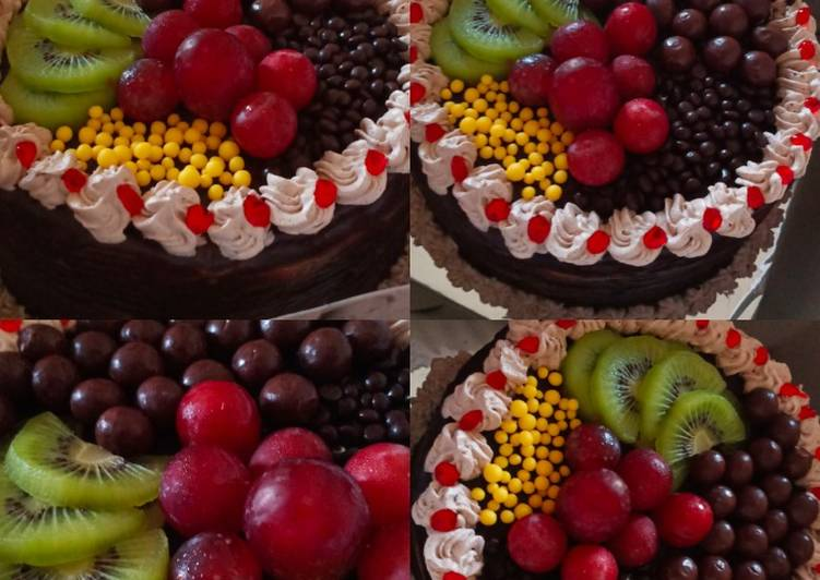 Fruit blackforest