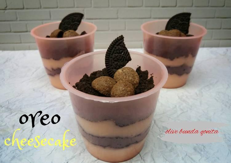Oreo cheesecake simpel