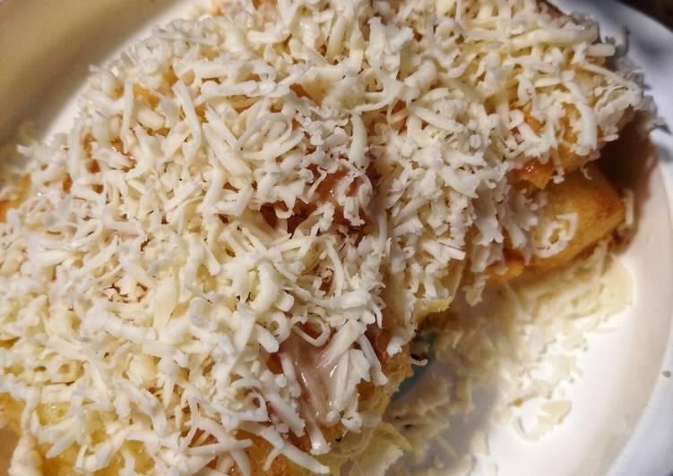 Singkong goreng keju