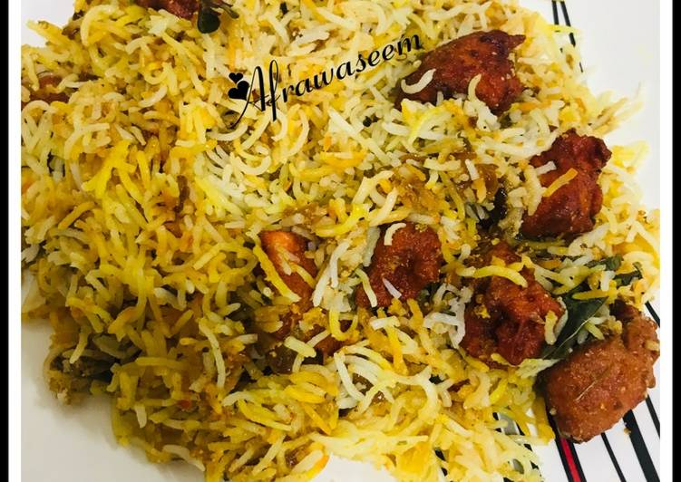 Chicken 65 dum biryani Deciding on Healthy and balanced Fast Food