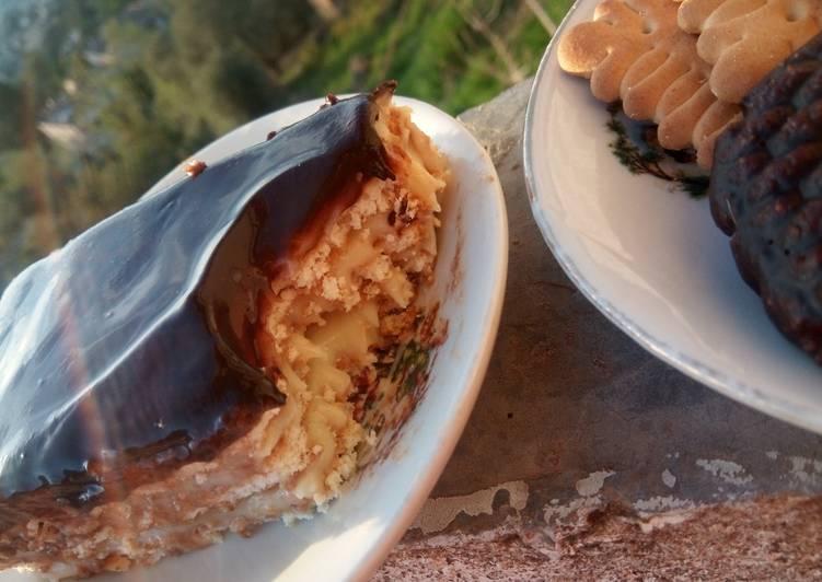 Tarte au chocolat et à la crème légère (sans cuisson)