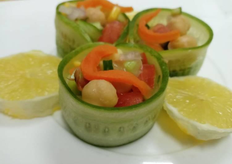 Recipe of Super Quick Homemade Cucumber chat