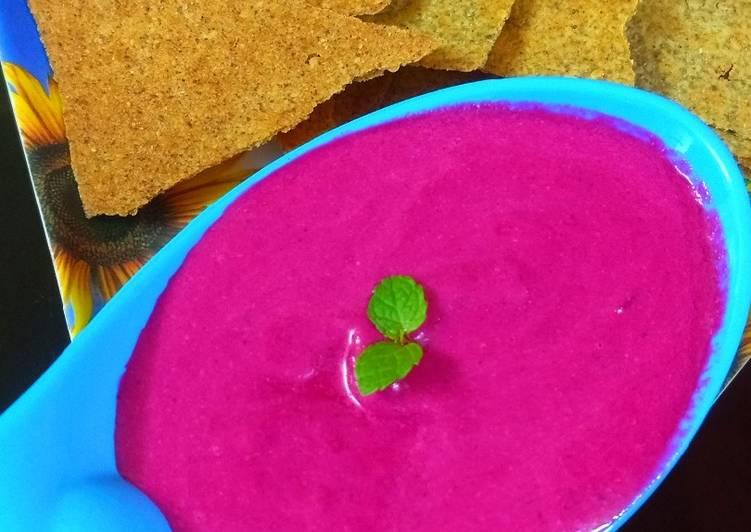 Recipe of Super Quick Homemade Beetroot dip