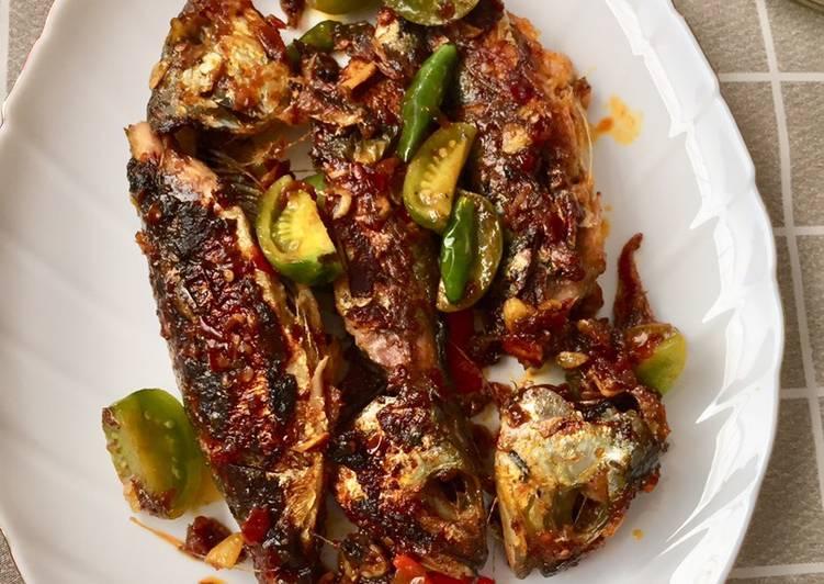 Ikan Kembung goreng mudah & anti gagal