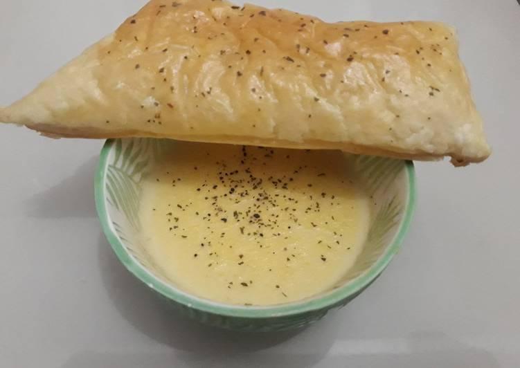 Japanese Corn Cream Soup Duplikasi Mos Burger