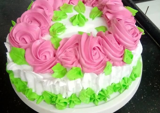 Vanilla cake no oven