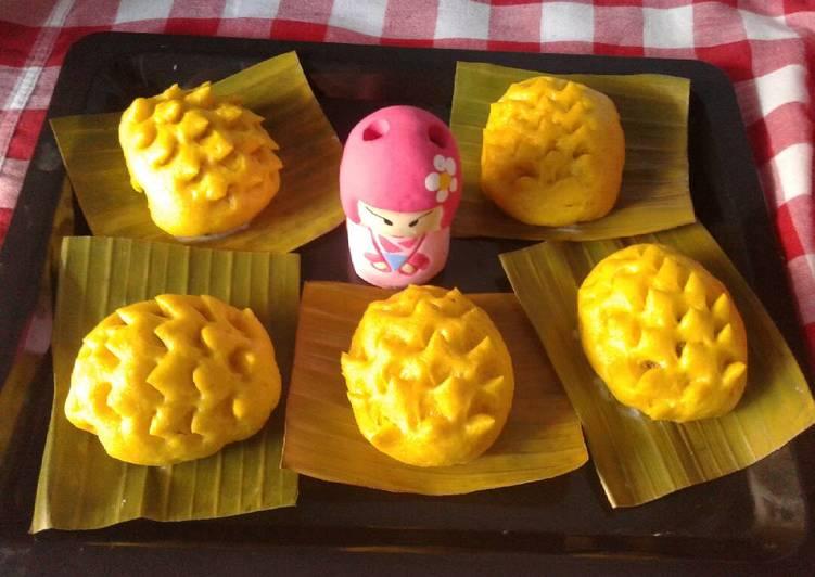 Resep Bakpao labu kuning isi ayam no msg Favorit