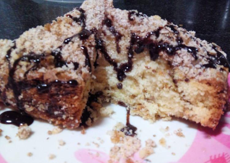 Recipe of Award-winning Cinnamon Coffee Apple Crumb Moist Cake