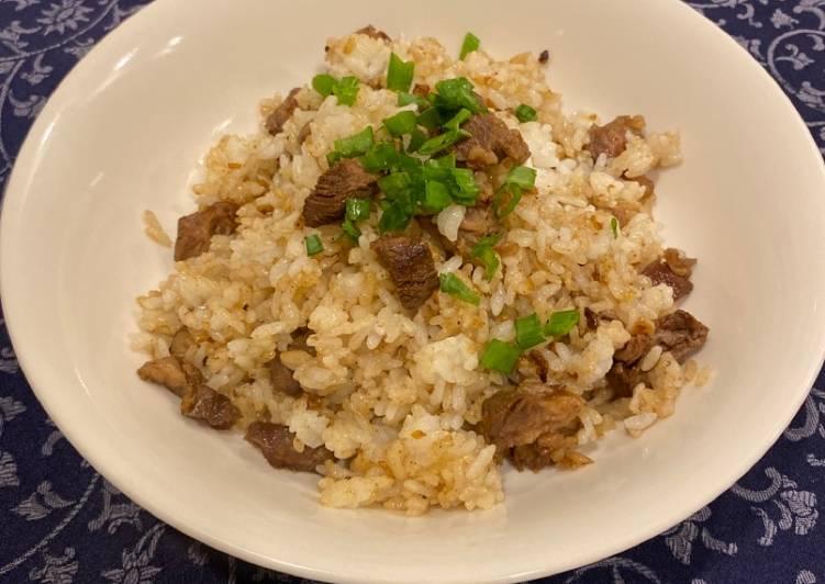 Mummy's Steak Fried Rice