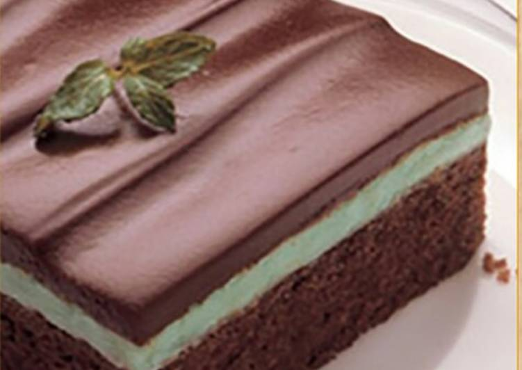 Step-by-Step Guide to Make Perfect Chocolate mint brownie