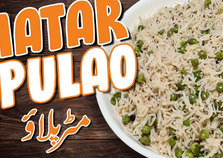 Recipe of Quick Matar palao, Peas palao