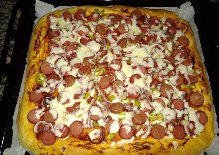 Pizza Panggang Rumahan (Resep ala Turki) Ulen tanpa ribet