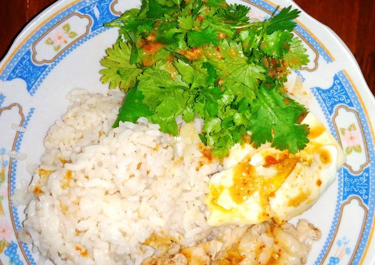 🍗Nasi Ayam Hainan Rice Cooker
