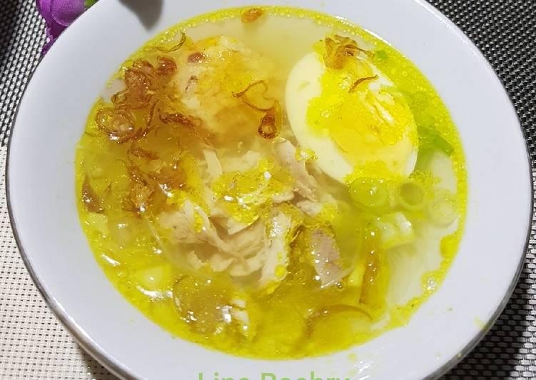 Soto Ayam Kuning Bening♡