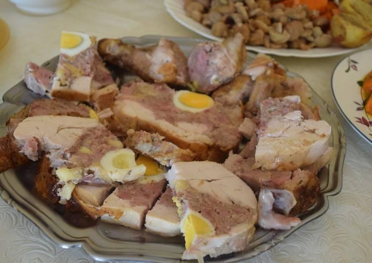 Pollo Relleno Al Horno Receta De Mary Jo Cookpad