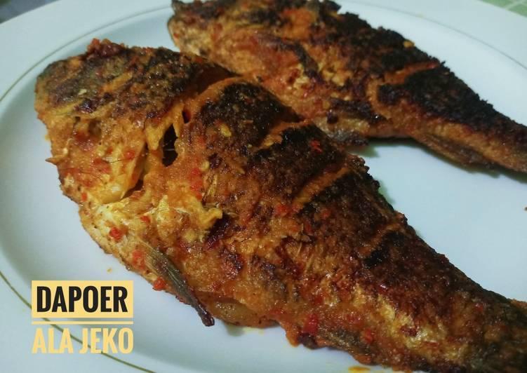 Ikan Bakar Teflon Ala Jeko