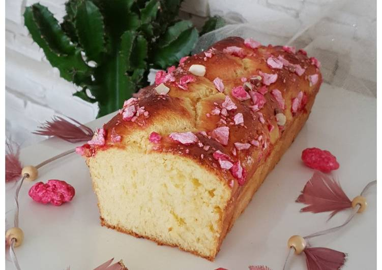 How to Make Yummy Brioche nanterre aux pralines roses