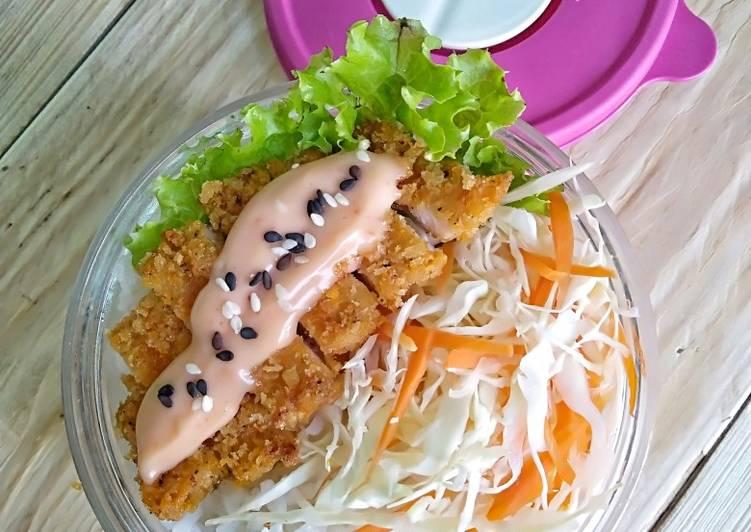 Cara Memasak Chicken Katsu bahan sederhana