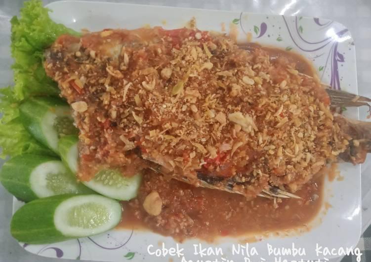 Cobek Ikan Nila Bumbu Kacang