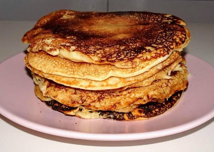 Pancakes à la farine de coco (vegan)