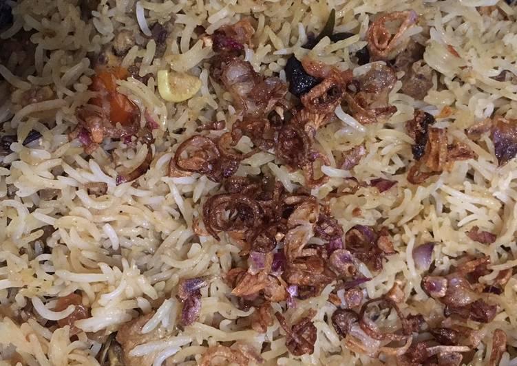Nasi Briyani Ayam (Mix bumbu instant)