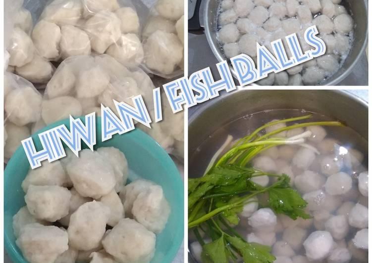 Hiwan / fish balls
