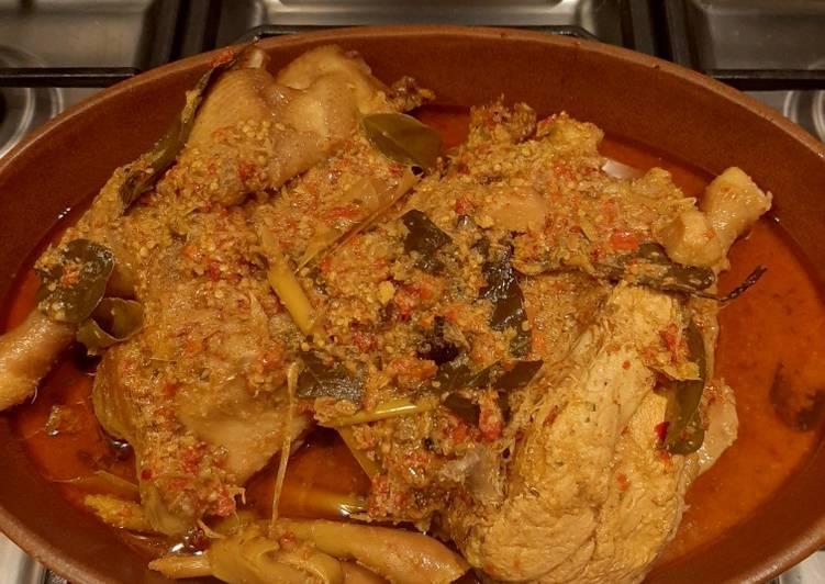 Ayam Betutu Bali-resep simple