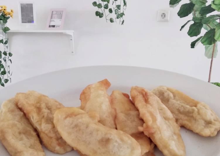 Pisang kepok goreng