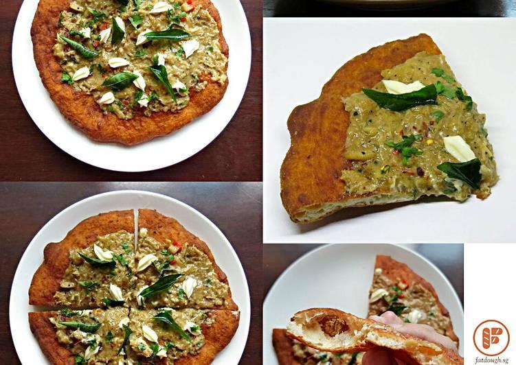 Recipe: Perfect My Pizza Fritta: The Singapore Black Pepper Crab