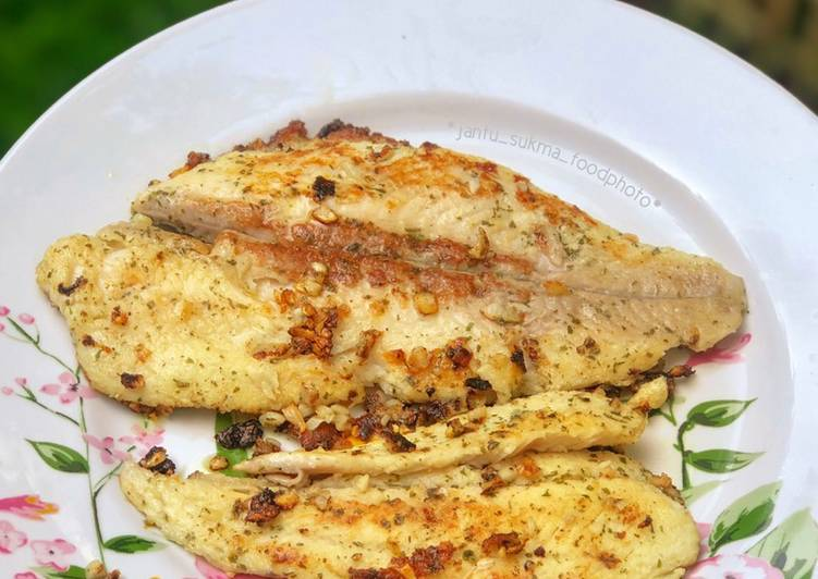 Pan Grilled Dory