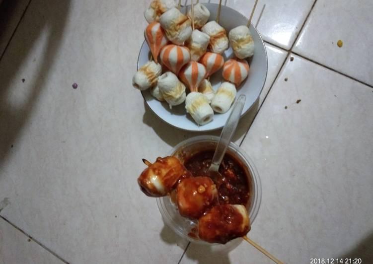 Resep Chikuwa Dumpling Pedas Bakar Oleh Non Tya Cookpad