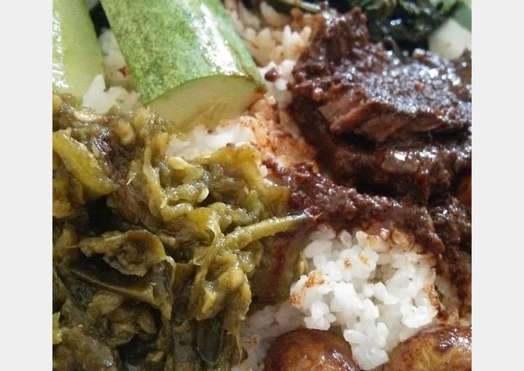Cara Gampang Membuat Sambel ijo Nasi Padang , Bisa Manjain Lidah
