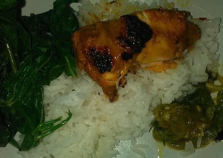 Nasi Padang ala rumahan