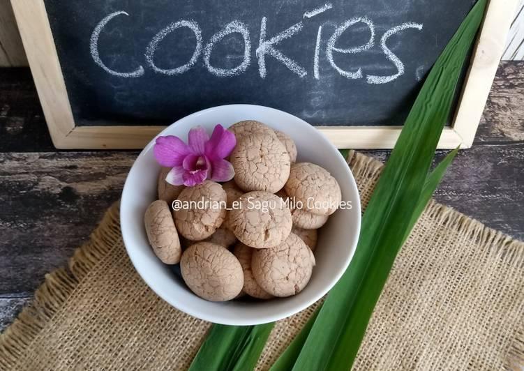 Sagu Milo Cookies #day30